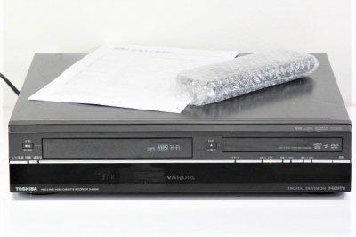 TOSHIBA VARDIA VTR一体型ハイビジョンレコーダー HDD 250GB D-W255K 【中古品】