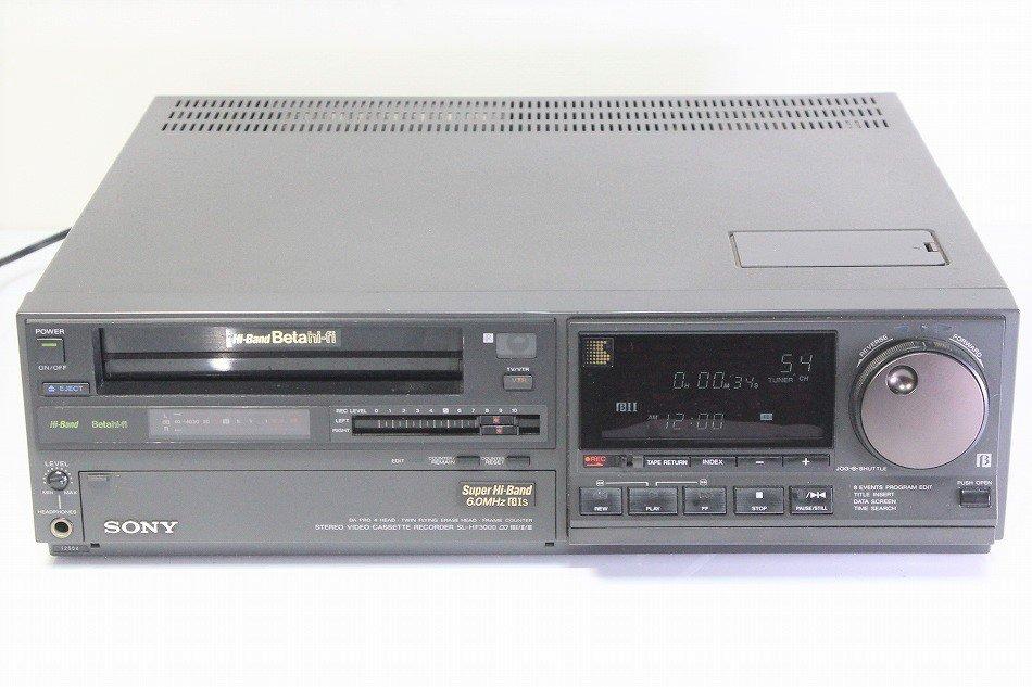 SONY SL-HF3000 Super Hi-Band Betahi-fi Beta PRO ビデオデッキ 【中古整備品】