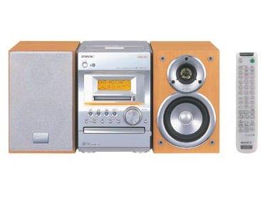 NetMD対応 ソニー SONY CMT-M333NT マイクロHiFiコンポシステム CD/MD/カセット/ラジオ【中古品】