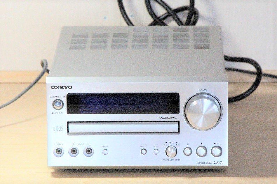 ONKYO CR-D1 CD/FMチューナーアンプ 【中古品】