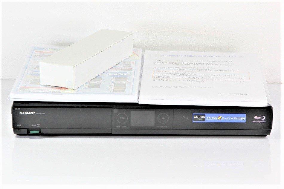 シャープ 320GB 1チューナー ブルーレイレコーダー AQUOS BD-HDS53