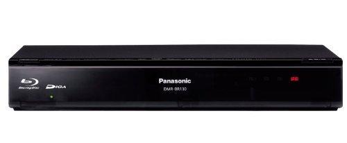 Panasonic 320GB 1チューナー ブルーレイレコーダー ブラック DIGA DMR-BR130