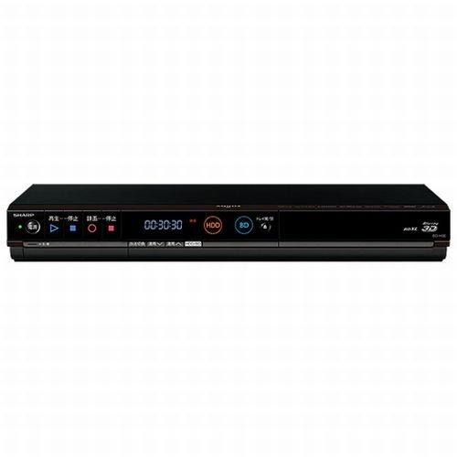 シャープ AQUOS ブルーレイディスクレコーダー 320GB シングルチューナー 3D対応 BD-H30