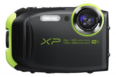 FUJIFILM コンパクトデジタルカメラ XP80 防水 ブラック