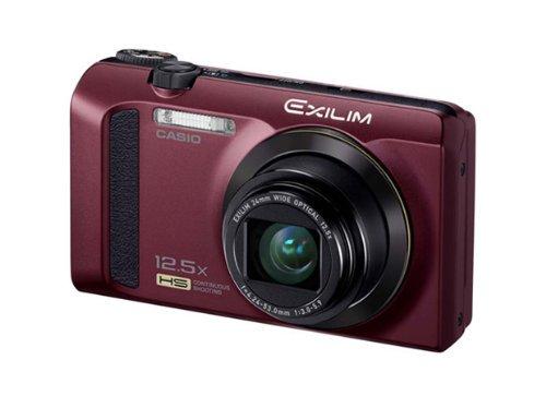 CASIO カシオ デジタルカメラ EXILIM EX-ZR300RD レッド ハイスピード 高速連写