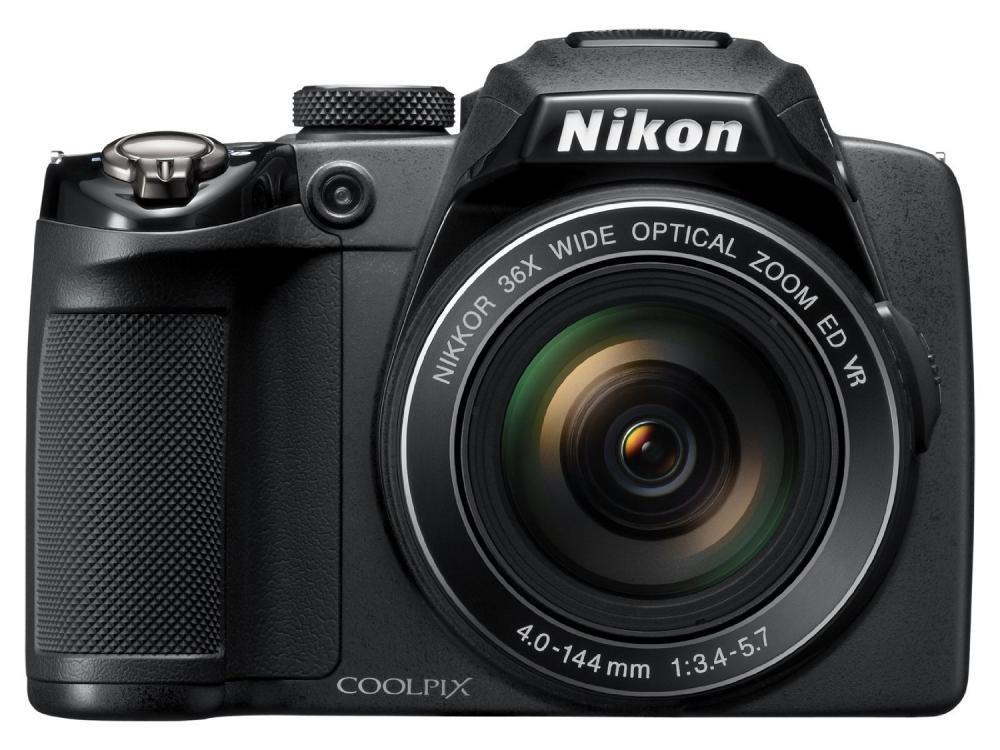 NikonデジタルカメラCOOLPIX P500 ブラック P500 1210万画素 裏面照射CMOS 広角22.5mm 光学36倍 3型チルト式液晶 フル…