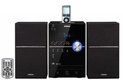 JVCケンウッド JVC iPod/iPhone対応マイクロコンポーネントシステム ブラック UX-SH5-B【中古品】