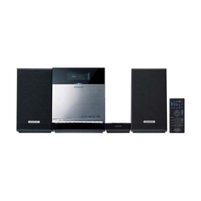 KENWOOD C-414-S iPhone/iPod/CD/USB/SD コンパクトHi-Fiシステム シルバー【中古品】