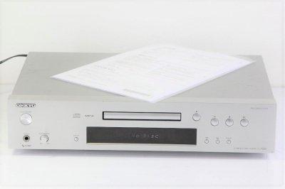 ONKYO CDプレーヤー シルバー C-7030(S)【中古品】