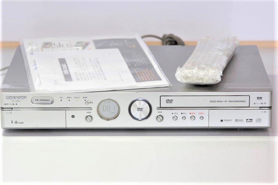シャープ 160GB DVDレコーダー DV-HRD3【中古品】