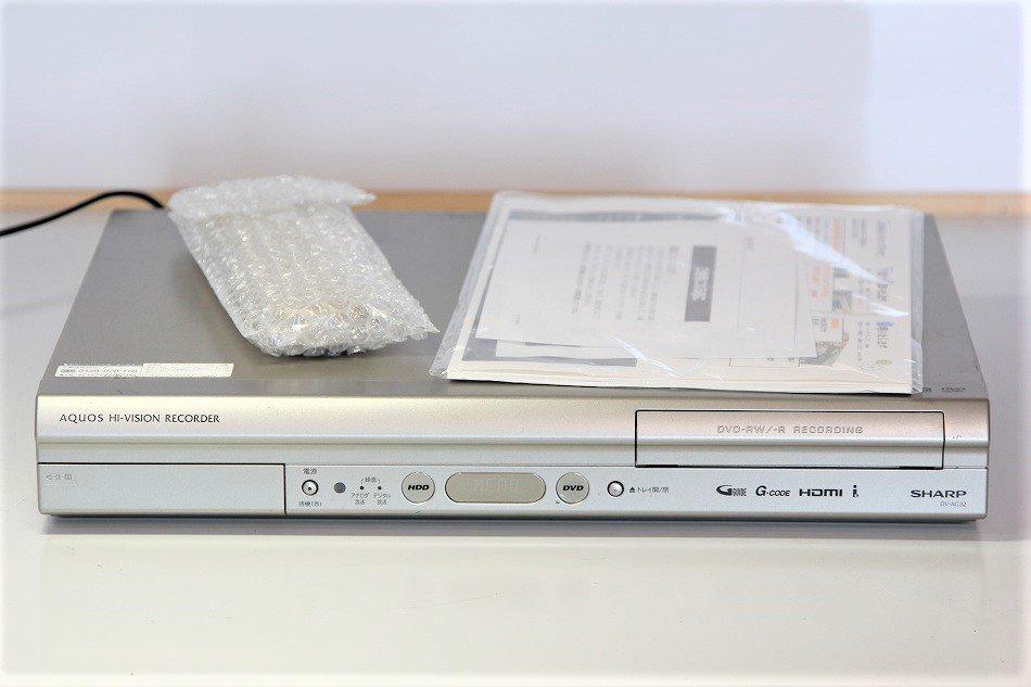 シャープ 250GB DVDレコーダー AQUOS DV-AC32【中古品】