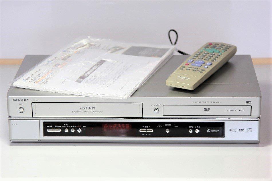 シャープ ビデオ一体型DVDプレーヤー DV-NC700【中古品】
