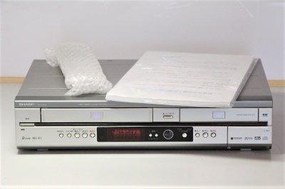 シャープ ビデオ一体型DVDレコーダー DV-RW190【中古品】