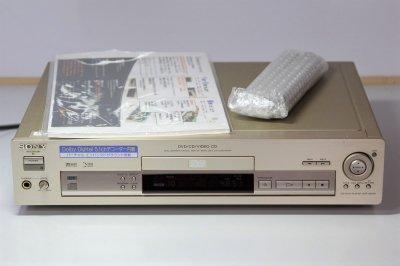 SONY DVP-S501D 5.1chドルビーデジタルデコーダー内蔵 CD/ビデオCD/DVDプレーヤー【中古品】