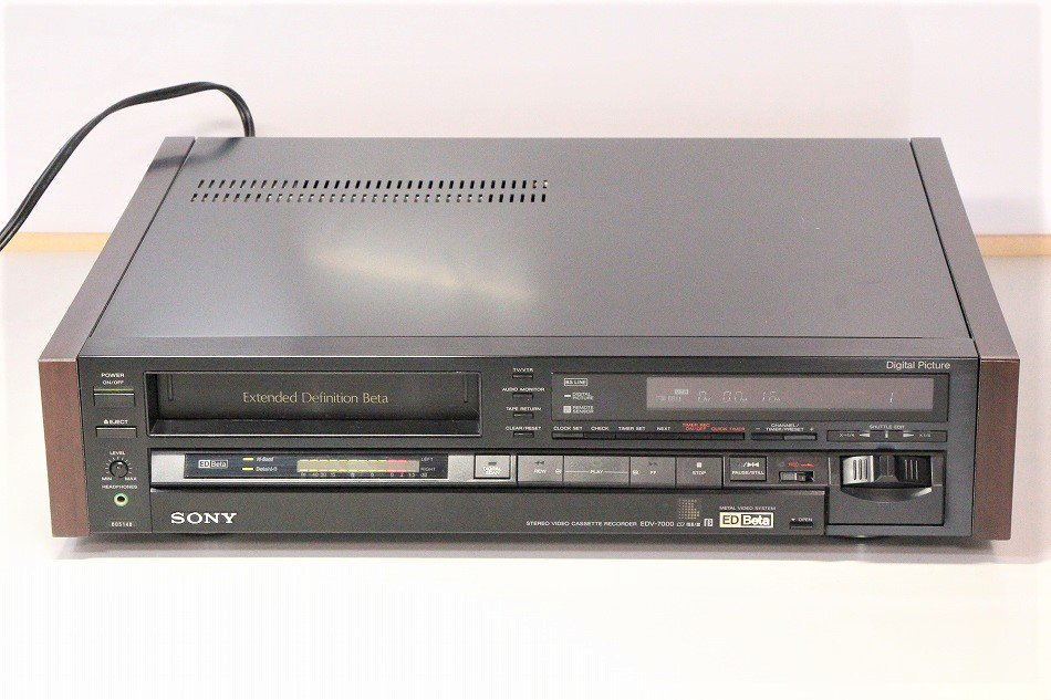 SONY EDV-7000 ED Betaビデオデッキ 【中古品】