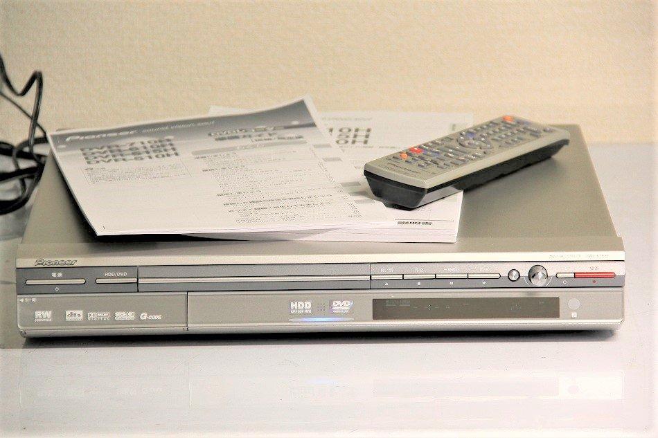 Pioneer DVDレコーダー 120GB HDD内蔵 DVR-515H-S【中古品】