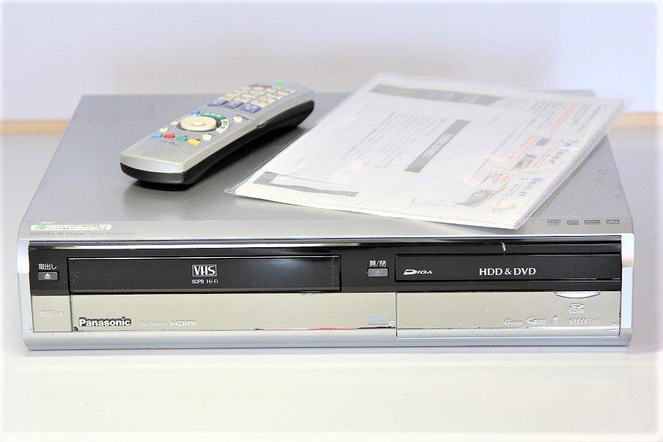 Panasonic 400GB DVDレコーダー VHSビデオ一体型 DIGA DMR-XW40V【中古品】