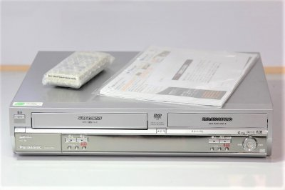 Panasonic DVDレコーダー VHSビデオ一体型 DIGA DMR-E75V 【中古品】