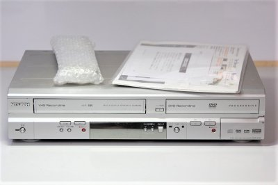 MITSUBISHI ビデオ一体型DVDビデオレコーダー DVR-S310 楽レコ【中古品】