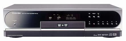 TOSHIBA RD-X2 DVD/HDDレコーダー BS対応 80G   (premium vintage)【中古品】