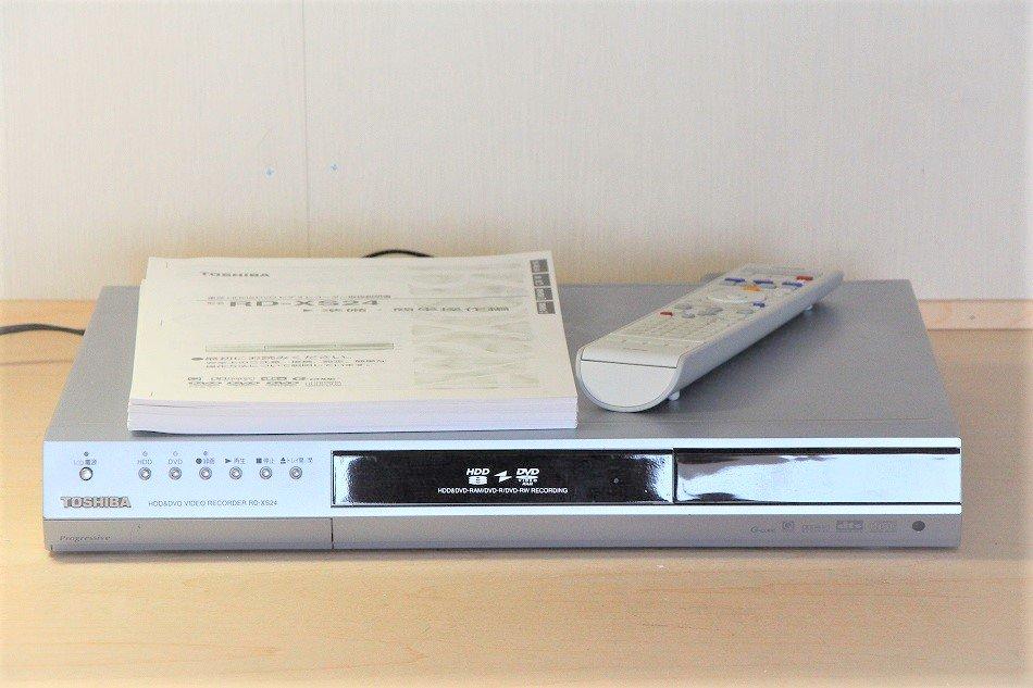 TOSHIBA RD-XS24 HDD&DVDレコーダー【中古品】