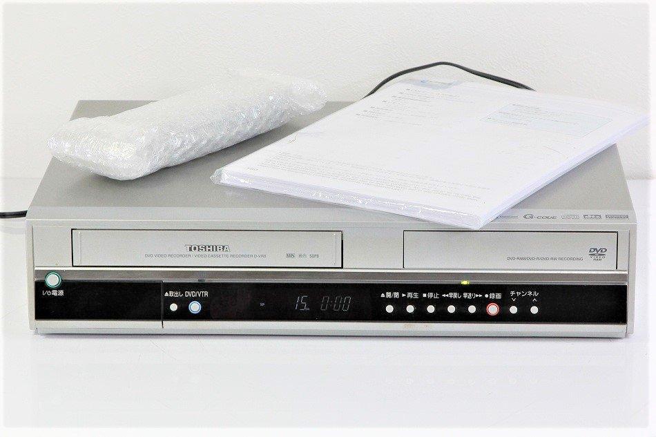 TOSHIBA VTR一体型DVDレコーダ D-VR5【中古品】