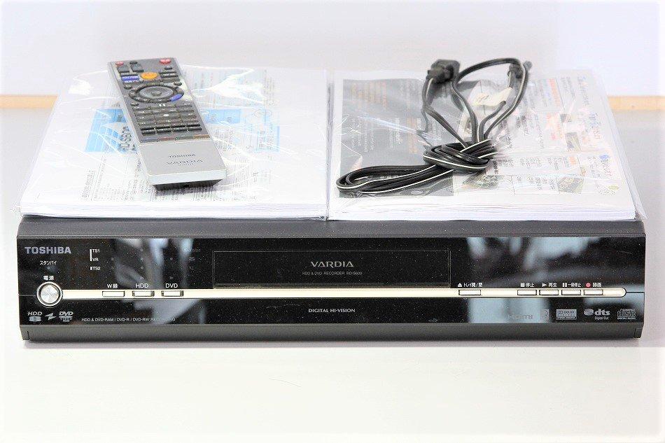TOSHIBA VARDIA 地上・BS・110度CSデジタルチューナー搭載ハイビジョンレコーダー HDD600GB RD-S600【中古…