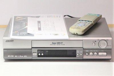JVCケンウッド ビクター BS内蔵 S-VHSビデオ HR-V700【中古品】