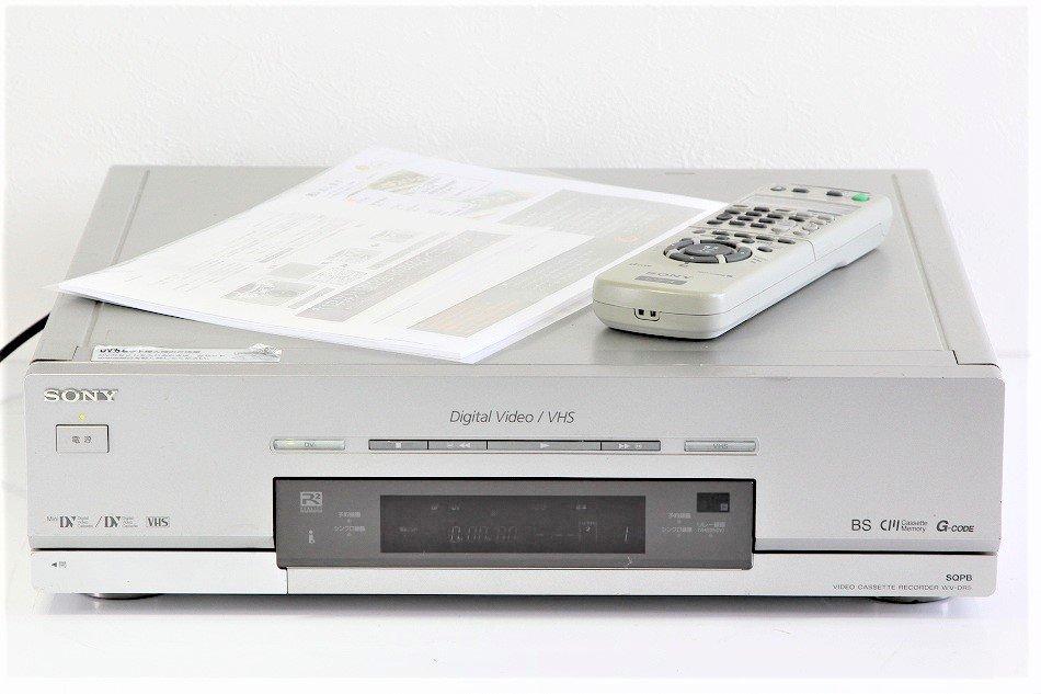 SONY DV/VHSダブルビデオデッキ WV-DR5【中古品】