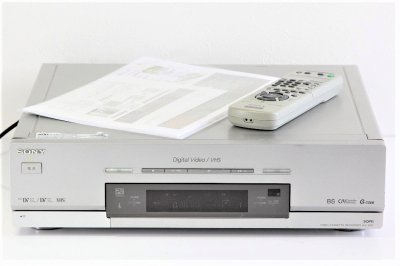 SONY miniDV/DV/VHSダブルビデオデッキ WV-DR5 【中古整備品】