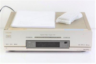 ソニー S-VHS/miniDV/DV デジタルダブルビデオデッキ WV-DR9 【中古品】