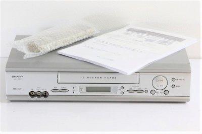 シャープ VHSビデオデッキ VC-H210 【中古整備品】