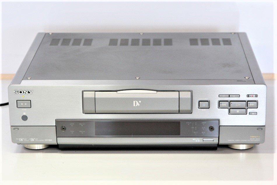 SONY miniDV/DV ビデオデッキ DHR-1000 【中古品】