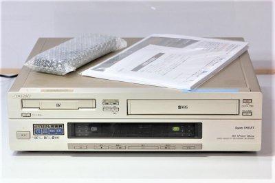 SONY WV-D9000 miniDV/DV&S-VHSビデオデッキ 【中古品】