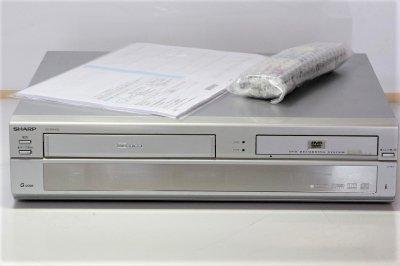 VHSビデオ一体型DVDレコーダー DV-RW100 シャープ【中古品】
