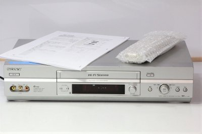 SONY SLV-NX35 VHSデッキ【中古整備品】