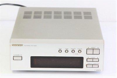 ONKYO INTEC205 FM/AMチューナー シルバー T-405TX(S)【中古品】