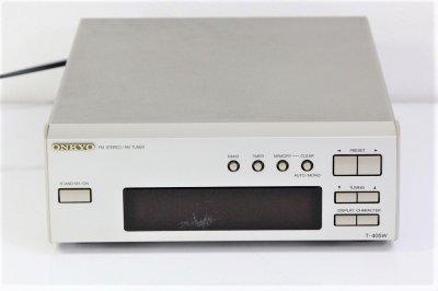 ONKYO オンキョー INTEC205 T-405W AM/FMチューナー【中古品】
