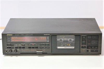 VICTOR カセットデッキ DD-VR77 オートリバース 1985年製 【中古整備品】