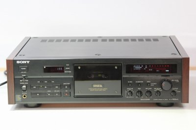 SONY 3HEAD カセットデッキ TC-K555ESL 1990年製 【中古整備品】