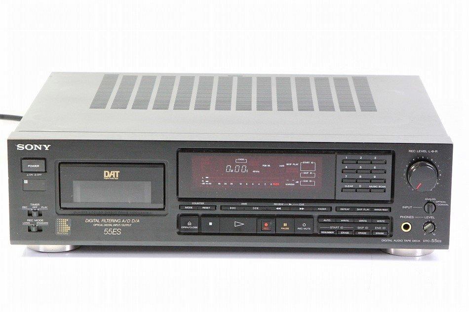SONY DTC-55ES DATデッキ ケーブル付【中古品】