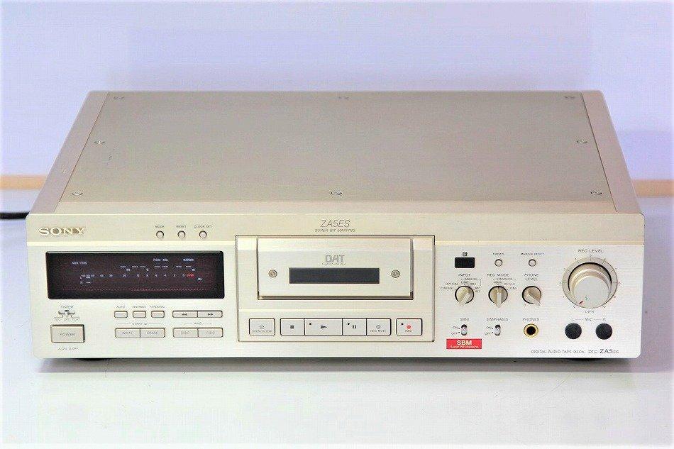 SONY DTC-ZA5ES DATデッキ (ゴールド) ESシリーズ【中古品】