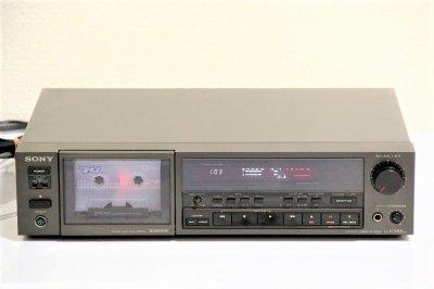 SONY TC-K555ES 3ヘッドカセットデッキ【中古品】