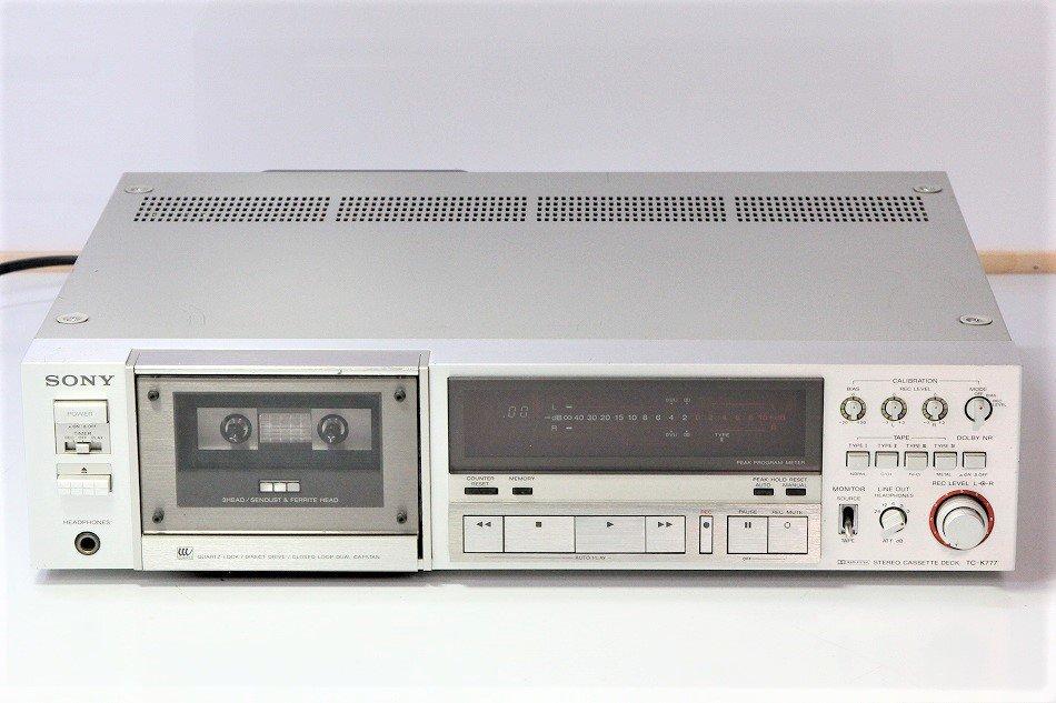 SONY TC-K777 3HEAD カセットデッキ 1980年製 【中古整備品】