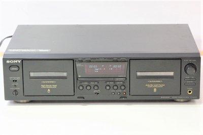 SONY TC-WE475 ツインリバースカセットデッキ【中古品】