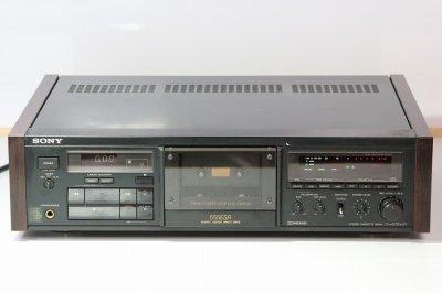 SONY 3HEAD カセットデッキ TC-K555ESR 1988年製【整備品】