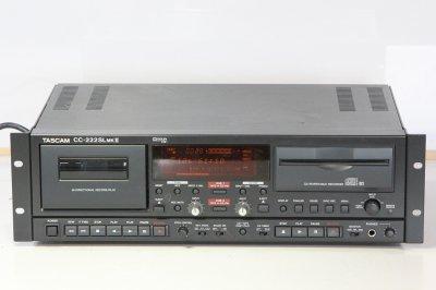 TASCAM CDレコーダー/カセットコンビネーションデッキ CC-222SLMK2 【中古品】