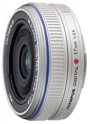 OLYMPUS パンケーキレンズ M.ZUIKO DIGITAL 17mm F2.8 シルバー【中古品】