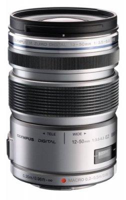 OLYMPUS ミラーレス一眼 レンズ 防塵 防滴 電動ズーム ED 12-50mm シルバー M.ZUIKO DIGITAL ED12-50mmF3.5-6.3 EZ SLV【中古品】