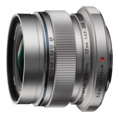 OLYMPUS 単焦点レンズ M.ZUIKO DIGITAL ED 12mm F2.0【中古品】